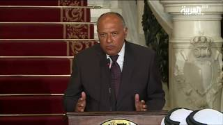 Egyptian FM: We cannot be selective when dealing with terrorist organizations