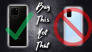 Galaxy S20 Ultra vs S20 Plus: Why You SHOULD NOT Buy The S20+