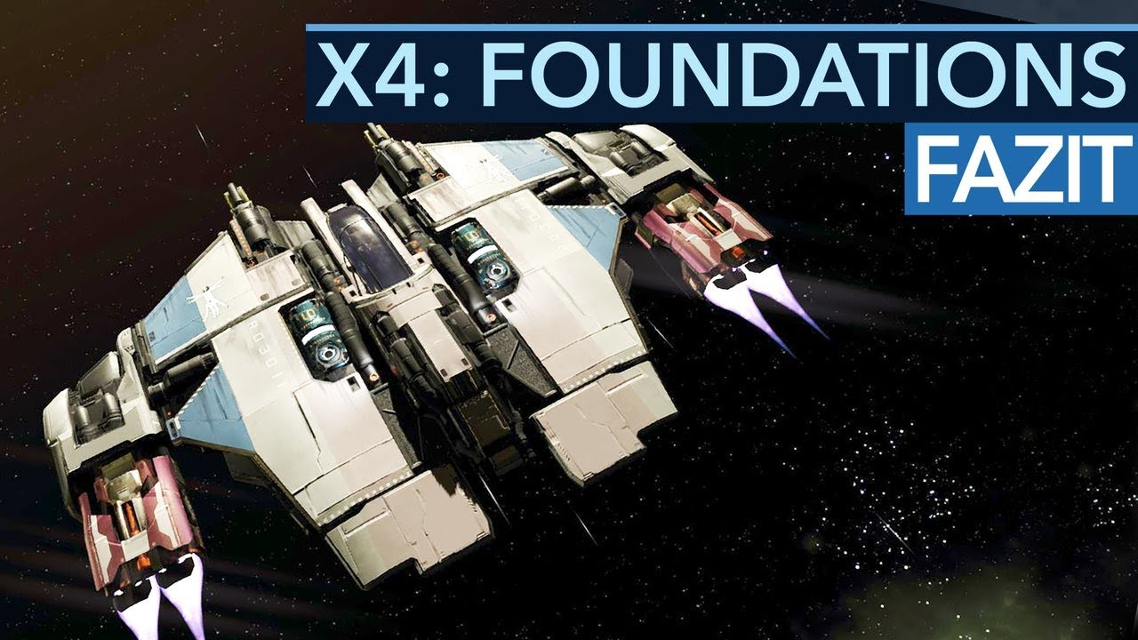 X4: Foundations - Neues Update lässt euch Schiffswerften bauen