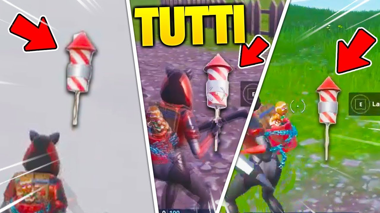 Download LANCIA 3 FUOCHI D'ARTIFICIO FORTNITE - GUIDA COMPLETA