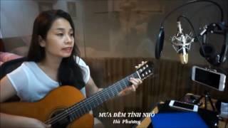 Guitar bolero - Mưa đêm tỉnh nhỏ (Hà Phương)