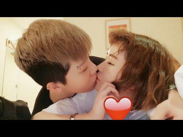 Cute gxg couple on Tik Tok chinese