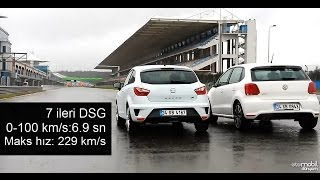 Drag - Seat Ibiza Cupra vs VW Polo GTI (Part 1)