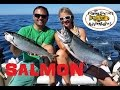 Ucluelet BC Salmon Fishing August 2016