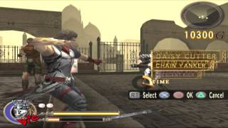 God Hand - Hard stage 8-1 The Death Shudder (Granny Smacker edition)