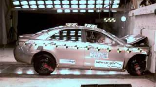 Crash Test 2007 - 2010 Toyota Camry / Daihatsu Altis / 07-09 Lexus ES 350 (Full Frontal)  NHTSA