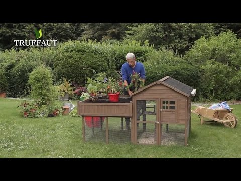 installer un poulailler carr potager jardinerie truffaut tv youtube