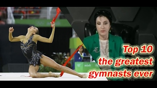 Top 10 the Greatest gymnasts of all time / Rhythmic gymnastics short movie Subtitles