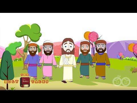 Jesus Calls Four Fishermen INew Testament Stories Children's Bible Stories| Holy Tales Bible Stories