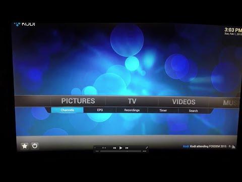 Intel NUC MythTV/Kodi PVR/DVR with HDHomeRun Extend Tuner