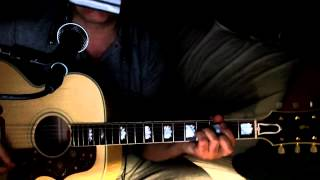 Father And Son ~ Cat Stevens - Boyzone ~ Acoustic Cover w/ Gibson J-200 TV & Bluesharp