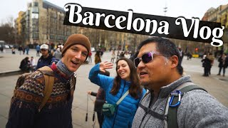 A Day In Barcelona Spain Europe Travel Vlog