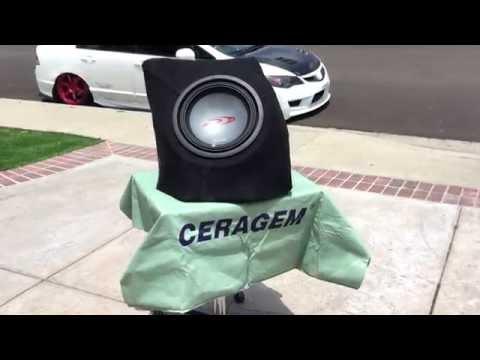How to Make a Custom Fiberglass Subwoofer Enclosure