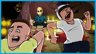 Garry's Mod Prop Hunt Funny Moments Halloween Edition! - Creepy Baby Delirious and More!