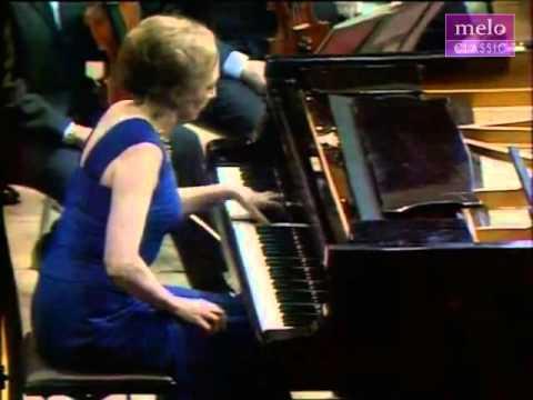 RAVEL   PIANO CONCERTO FOR THE LEFT HAND Cadenza e finale   Lélia Gousseau 1970