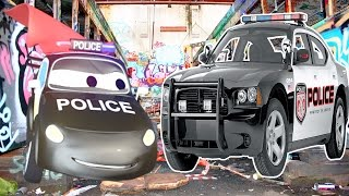 The Car Patrol: Fire Truck and Police Car Fight the Crime in Car City | Trucks cartoon for children
