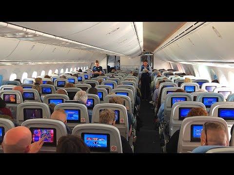 TUI Airways, Boeing 787-8 Dreamliner Amsterdam to Antalya