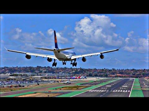 Incredible Planespotting at San Diego Int'l Airport SAN, Lindbergh   April 18th 2018