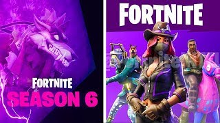 "SEASON 6 SKINS WITH LEAERS! -Playstation & Xbox Crossplay COME! -""Fortnite News"" English"