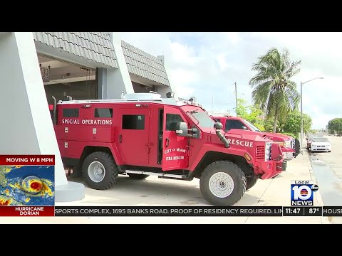 Miami Fire Rescue Unveils New Armored Vehicle
