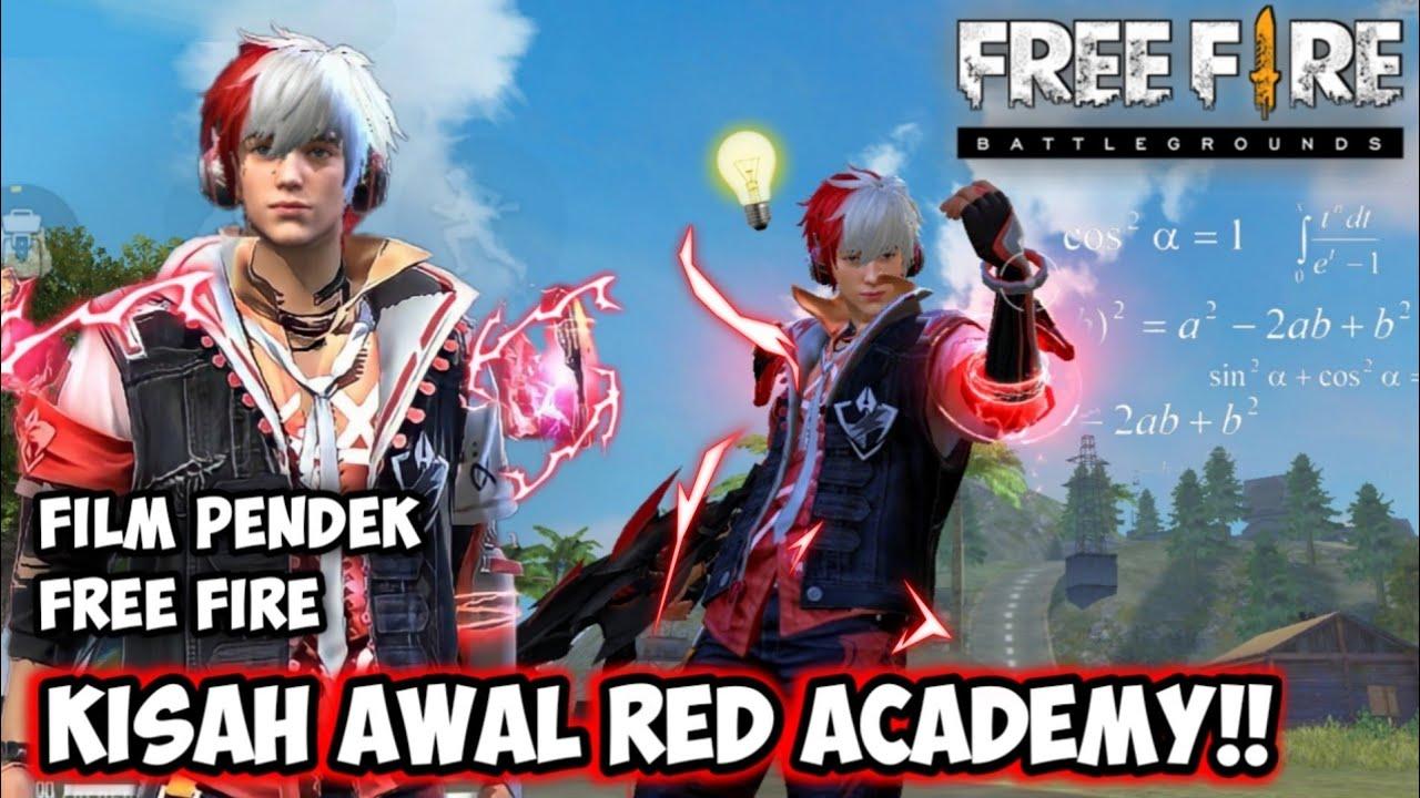 FILM PENDEK FREE FIRE!! KISAH AWAL RED REBEL ACADEMY !