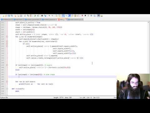 Let's Code Python: Tetris, Part 7
