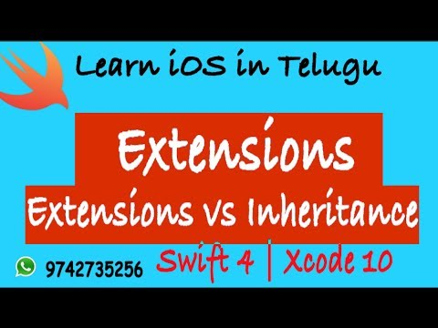 Learn iOS in Telugu: Extensions in Swift | Code On
