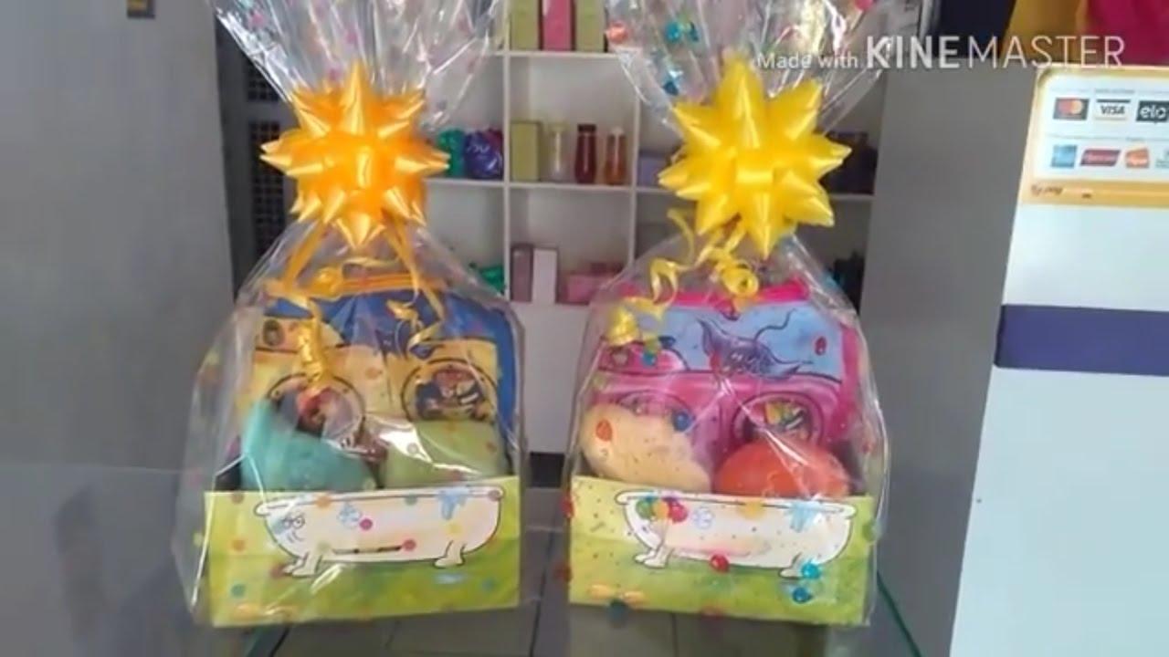 06e93d79a4fa39 Como fazer um kit infantil com sabonete Naturé