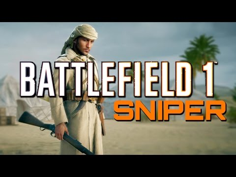 Battlefield 1: Martini-Henry Sniper Support (PS4 Pro Sniping Gameplay)