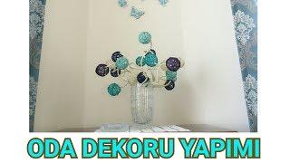 JÜT İPTEN ODA DEKORASYONU YAPIMI // DIY ROOM DECOR WITH ROPE