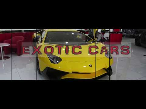 Exotic Cars Middle East Showroom