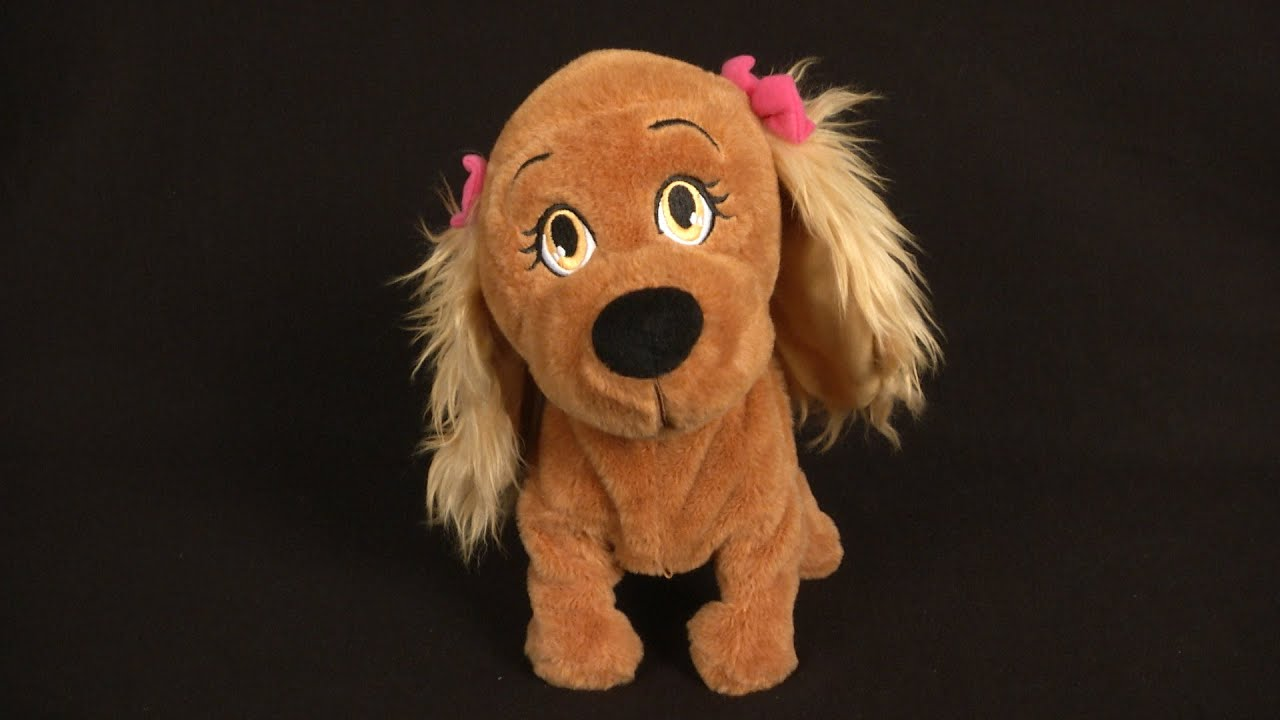 Club Petz Lucy Puppy Dog Animated Plush Dog Review Just Play Toys Youtube