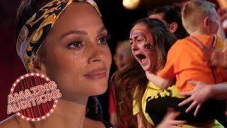 MOST EMOTIONAL Audition EVER?! GOLDEN BUZZER Won By INSPIRATIONAL Choir | Amazing Auditions