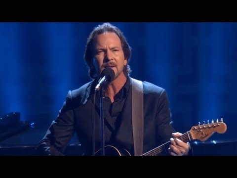 Eddie Vedder - Keep Me in Your Heart (David Letterman: Twain