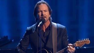 Eddie Vedder - Keep Me in Your Heart (David Letterman: Twain Prize - 10/22/2017) [Warren Zevon]
