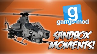 GMod Sandbox! - GET TO THE CHOPPA!, Derpy Heli's, Mountain Missions & More! Funny Moments