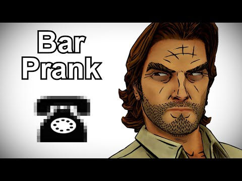 Bigby Wolf Searches for The Woodsman - The Wolf Among Us Prank Call