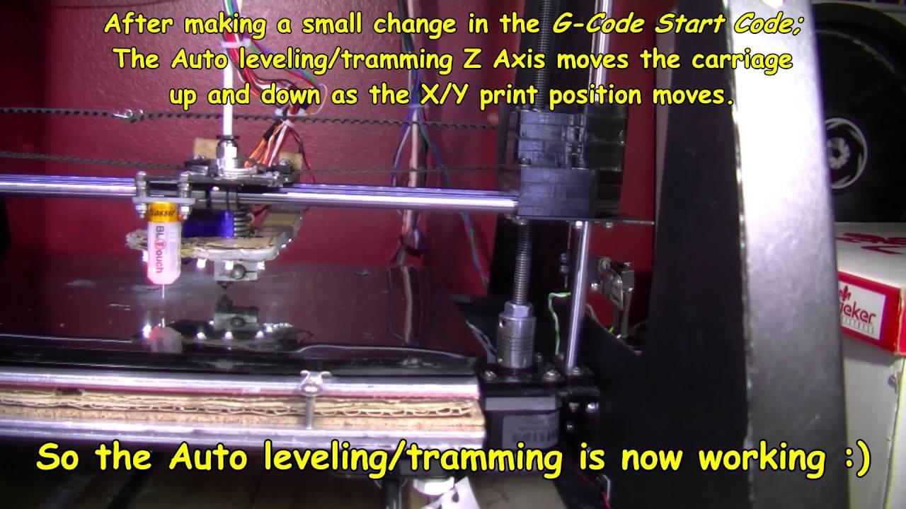 Auto level Probe but not leveling