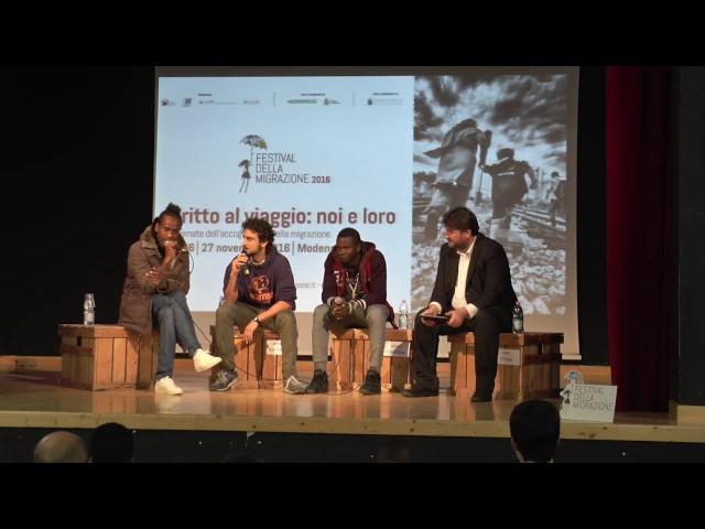 Festival della migrazione 2016 - intervento di Mamadou Yaya e Mamadiang