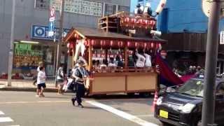 2013土浦祇園祭 立田町獅子 7/26 PM3:00頃