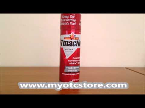 Myotcstore.com Review on Tinactin Antifungal Powder Spray – 4.6 Oz