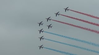 La Patrouille de France at RIAT 21st July 2013