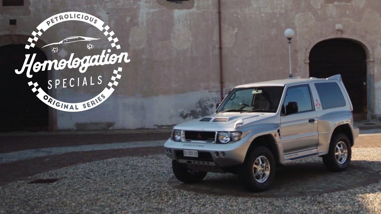 Homologation Specials: 1998 Mitsubishi Pajero Evolution