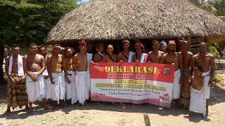 Komitmen Masyarakat Adat Desa Kamanasa Dukung Polri Tindak Pelaku Penyebar Hoax Dan Isu SARA