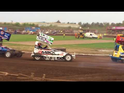 F2 Outlaws Heat 2 Scunthorpe 21/04/18.