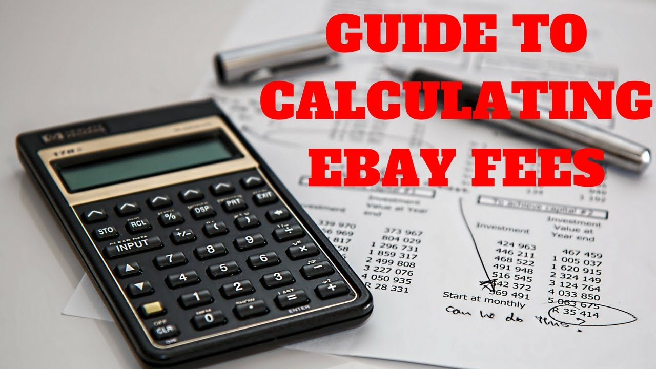 how to work out ebay fees