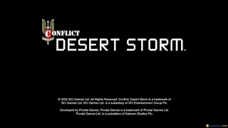 Conflict: Desert Storm gameplay (PC Game, 2002)