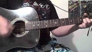 "Bubbles ""Liquor and Whores"" Acoustic Guitar Cover"