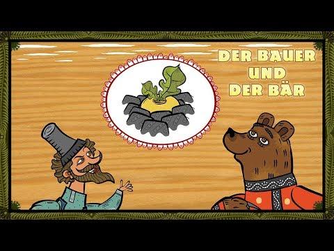 Mascha's Märchen  Der Bauer und der Bär 🐻 Folge 7