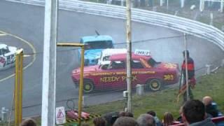 Pre-68 Banger Racing at Hednesford Raceway - 26 Sep 2010